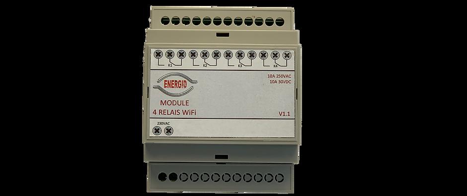 Module relais Wifi 4 relais