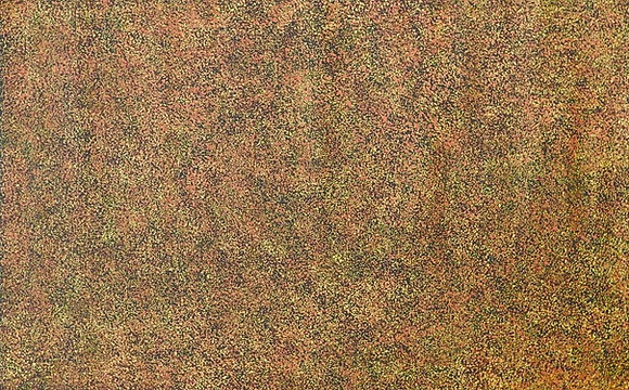 Bush Seeds by Annie Napangardi Nelson 59 x 92cm