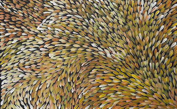 Bush Plum Leaves 93x59