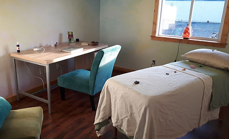 Cowichan Valley Reiki room