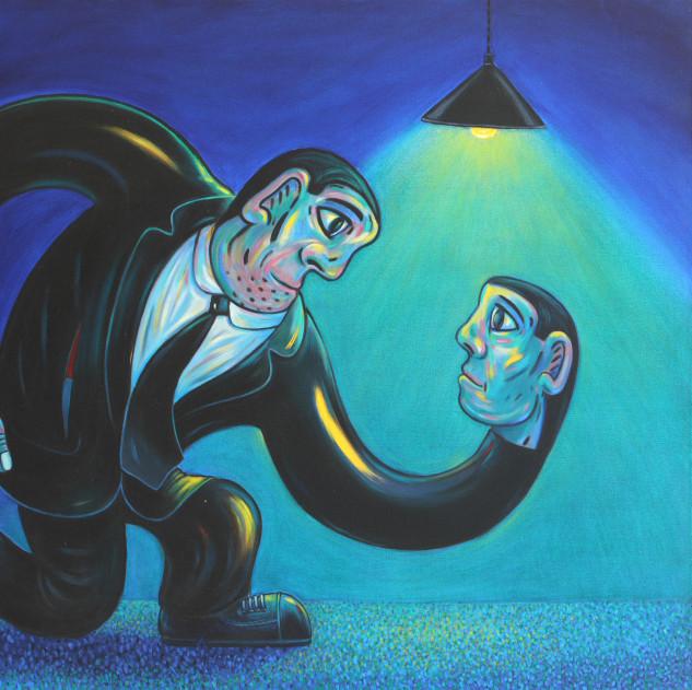 """Eye to Eye"" (2007) by Norman Cathrine"