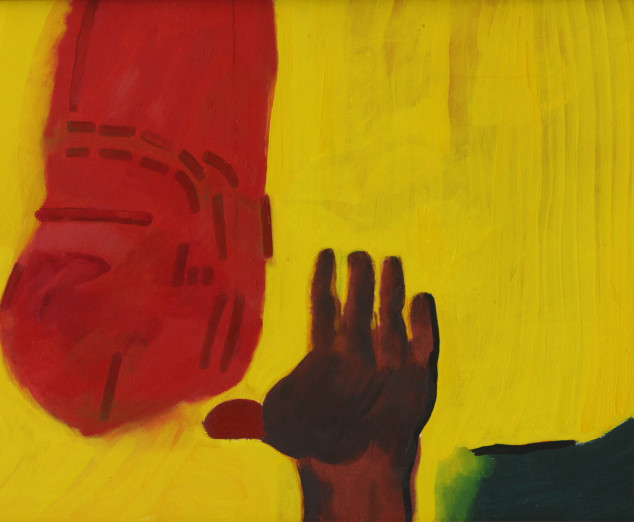 """The Hand of God"" by Robert Hodgins"