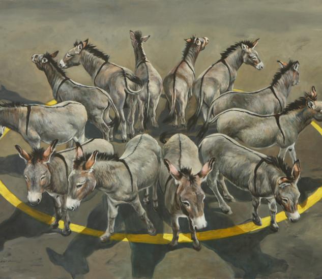 """""""As almal uit kyk kyk niemand in nie"""" (2008) by Rina Stutzer"""