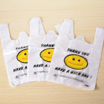 """Thank you"" Shopping platic bags"