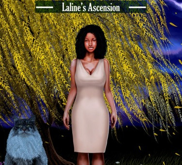 The Curse of the Nine: Laline's Ascension is on Audible.