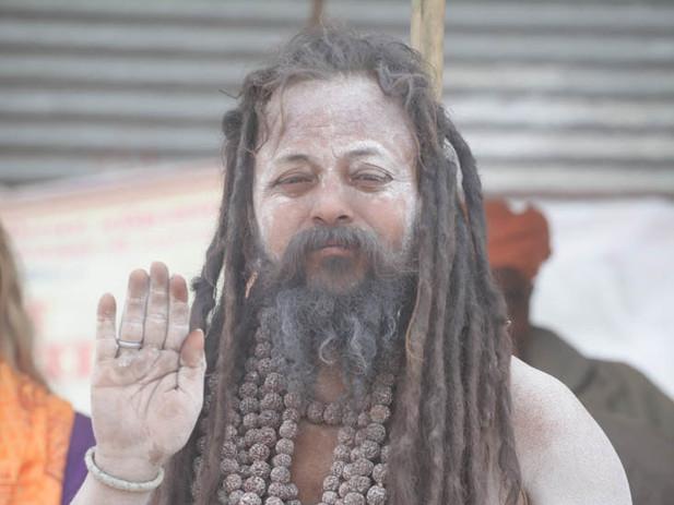 סגפן בפסטיבל הקומבמלה, הודו