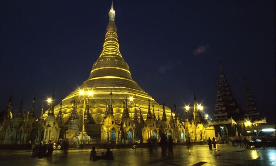 בורמה - פגודת שוודגון