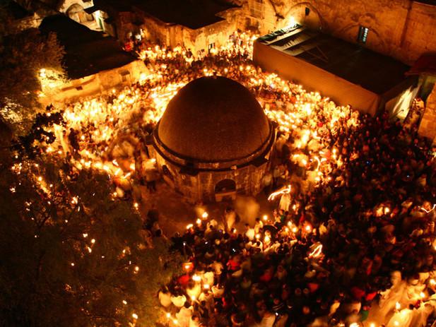 מאירים את הלילה בטקס האור האתיופי