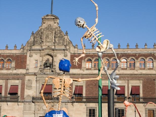 יום המתים, מקסיקו סיטי