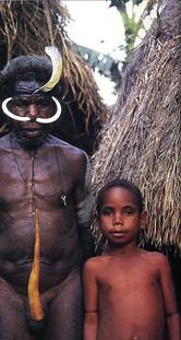 תן לו בשיניים - שיוף שיניים באינדונזיה להגנת המתבגר במלחמתו בשדים