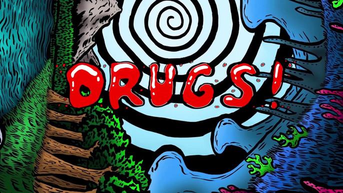הטריפ אל האור - הגדרה ומיפוי סוגי הסמים: חשיש ומריחואנה, אקסטזי, ל.ס.ד, הרואין.