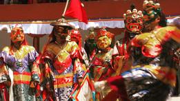 פסטיבל בודהיסטי, לדאק, הודו