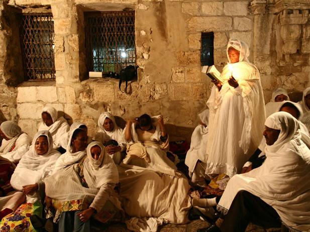 צליניות בתפילה ומנוחה