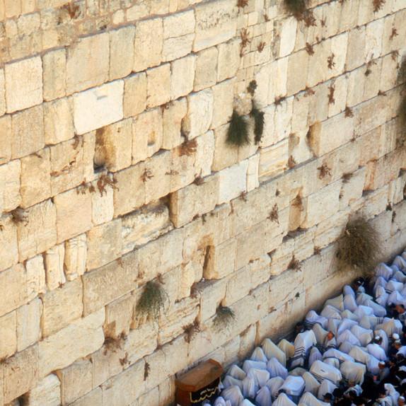 ברכת הכוהנים בכותל, ירושלים