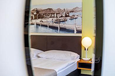 Detail Zimmer Seehotel Kastanienbaum