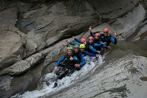 Canyoning Fun Gruppenangebot