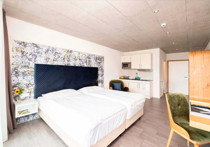 Innenansicht Zimmer Hotel Idea Spreitenbach