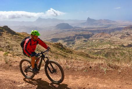 Biker in Kap Verde
