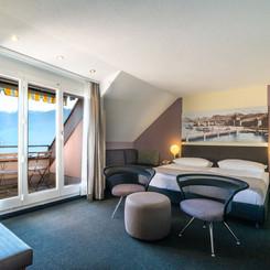 Doppelzimmer Superior im Seehotel Kastanienbaum