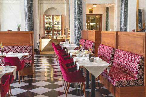 Innenansicht Restaurant Franz
