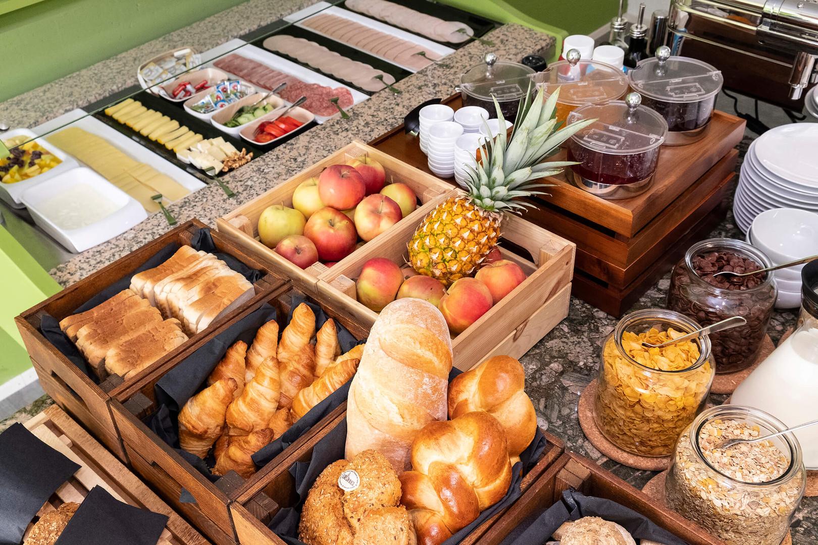 Frühstücksbuffet Hotel Idea Spreitenbach