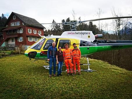 Besuch von Swiss Helicopter