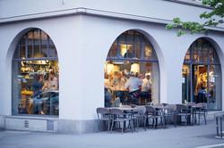 Aussensicht vom Restaurant Zur Werkstatt Luzern