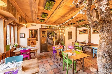 Innenansicht vom Restaurant Gartenhaus 1313