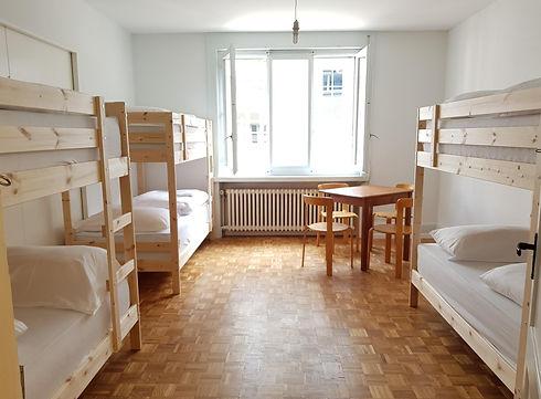 6-Bett-Zelle Hotel Barabas Luzern