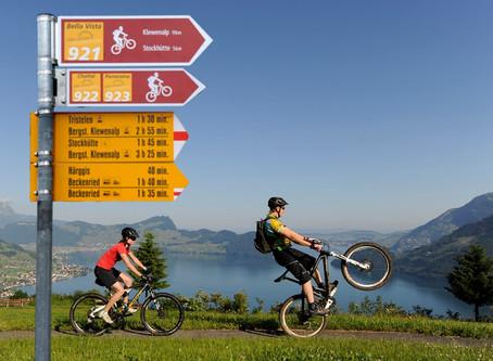Monis Tipp: Bike und E-Bike Trails auf über 600 Meter