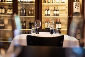 Gedeckter Tisch im Restaurant