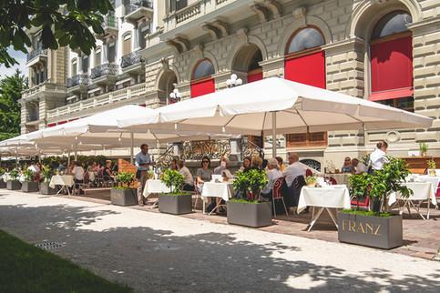 Terrasse Restaurant Franz Luzern