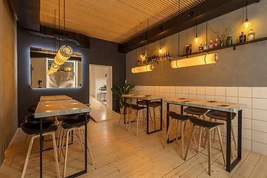 Innenansicht Restaurant WOLF