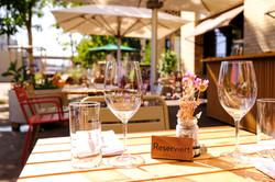 Terrasse Stadtkäserei und Restaurant