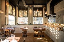 Innenansicht Stadtkäserei und Restaurant