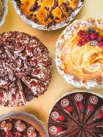 Torten und Kuchen im Restaurant Franz Luzern