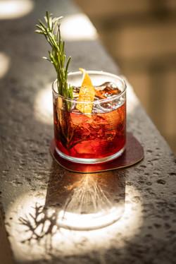 Drink auf dem Bartresen in der Stadtkäserei und Restaurant
