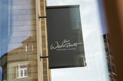 Beschriftung Restaurant Zur Werkstatt Zürich