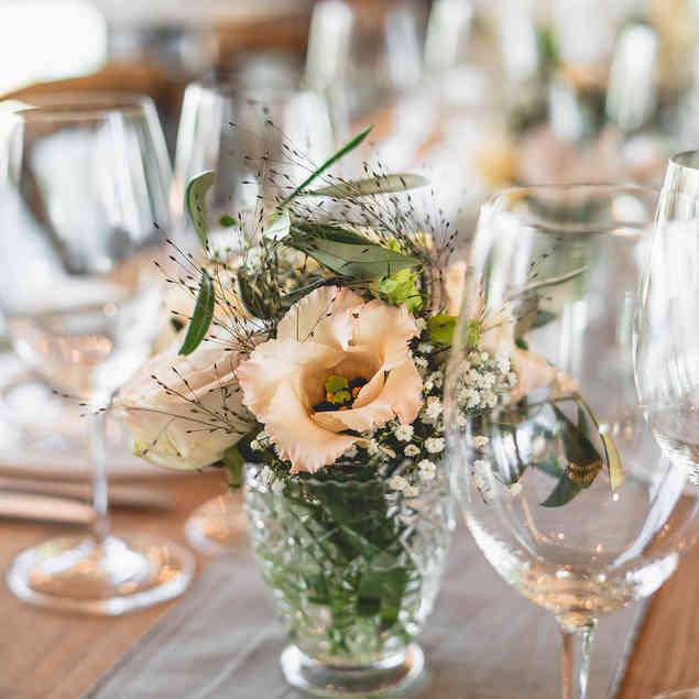 Seehaus Grill Luzern - Dekorierter Tisch für Anlass