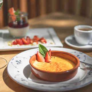 Seehaus Grill Luzern - Desserts und Kaffee