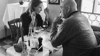 Gäste in der Brasserie Bodu