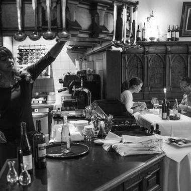 Innenansicht Brasserie Bodu