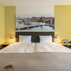 Zimmer im Seehotel Kastanienbaum