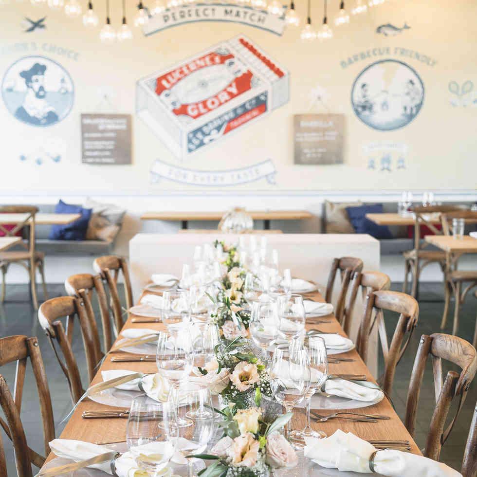 Seehaus Grill Luzern - Dekoriertes Restaurant für Anlass