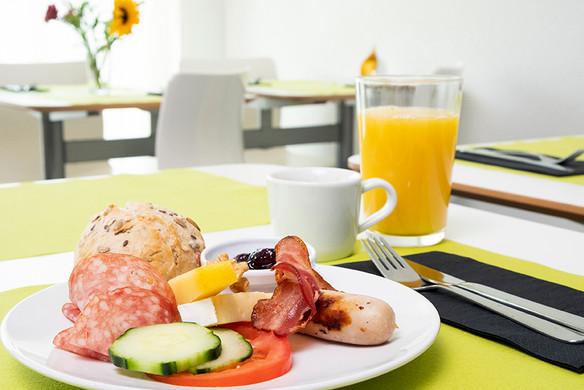 Frühstücksteller Hotel Idea Spreitenbach