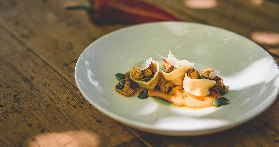 Gourmetspeise im Gasthof Krone Blatten