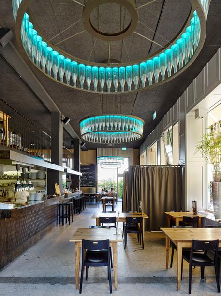 Innenansicht Restaurant Libelle