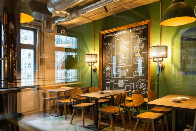 Restaurant Brauwerk innen
