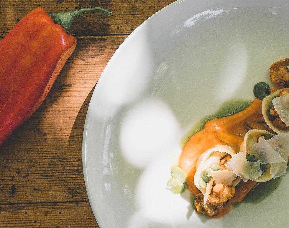 Gourmetmenü von einem Restaurant des Luzerner Genussscheins