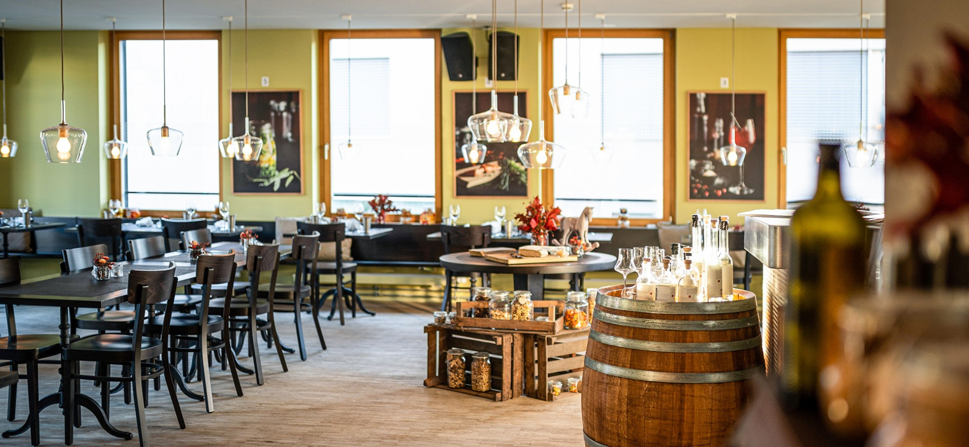 Innenansicht Restaurant Rössli Hü
